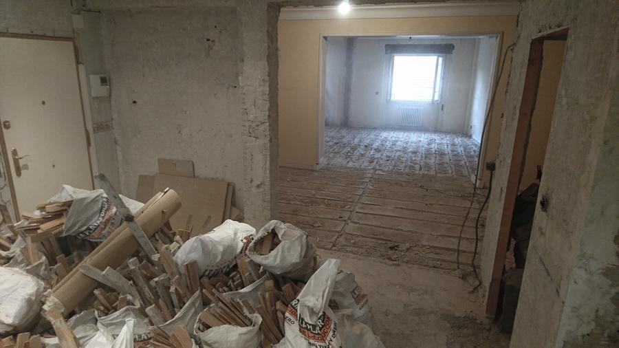 Ejecución de obra. Fase de demoliciones.