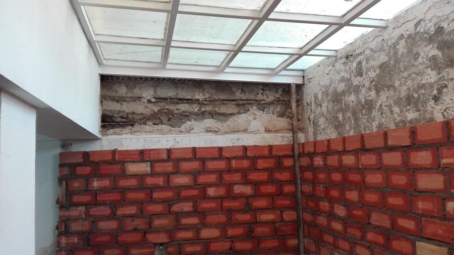Ejecución de trasdosado de muro de sotano para evitar humedades