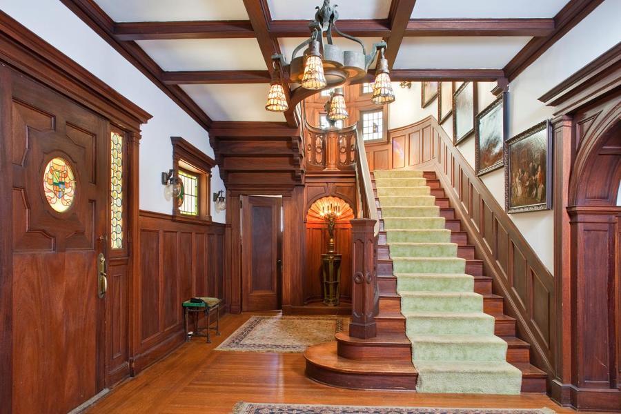 El interior de The Murder House