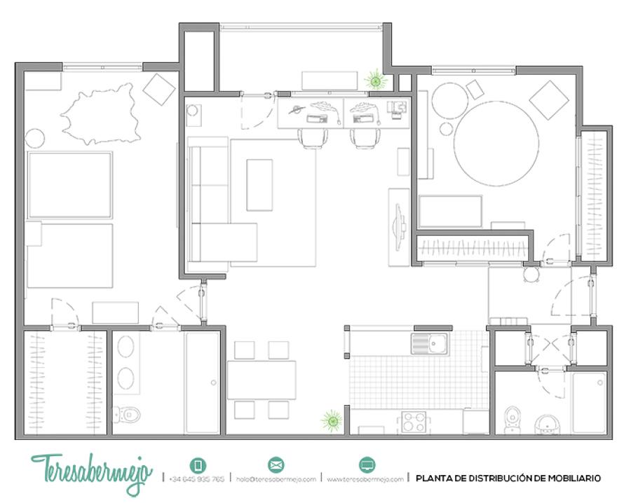 El nuevo piso de Christina y su familia