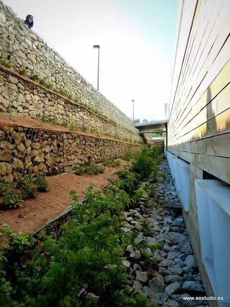 Jard n en la universidad de a coru a ideas jardineros - Patio ingles ...