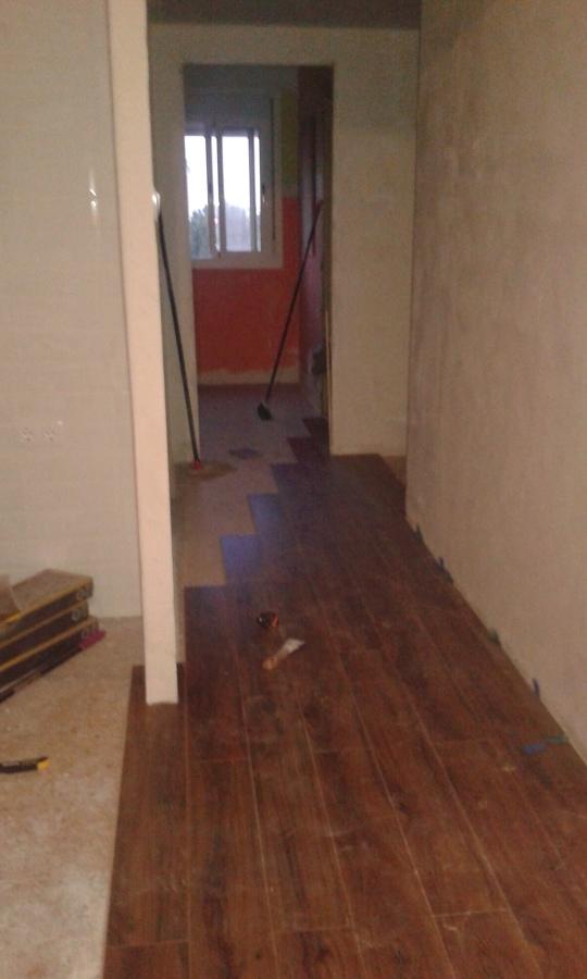 el piso siempre limpio