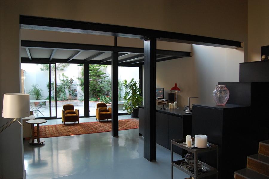 El salón-cocina