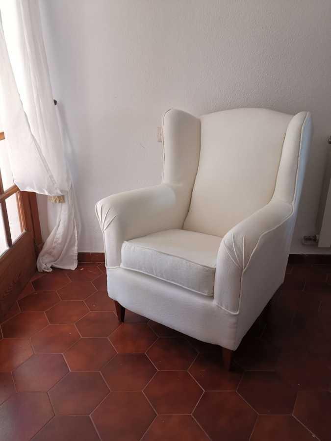 el sillon acabado