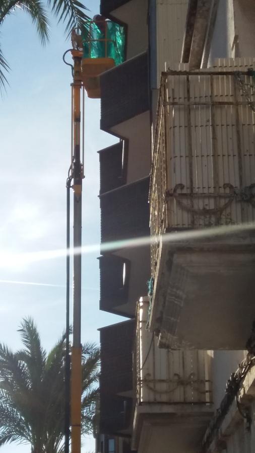 El sol nos acompaña en nuestro trabajo
