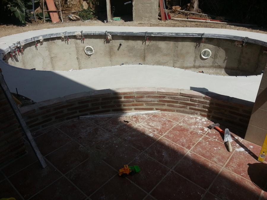 Foto elaboracion de piedra artificial coronacion de - Piedra artificial barcelona ...