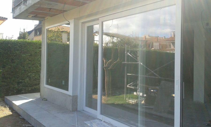 Elevable PVC vista desde  L´exterior