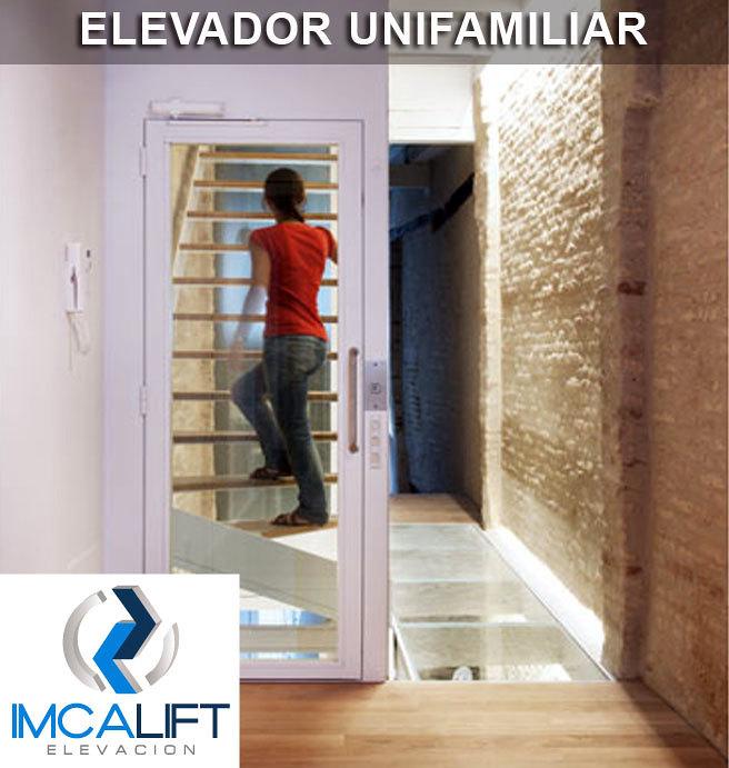 Elevador unifamiliar elevador vertical dom stico para - Ascensores para viviendas unifamiliares ...