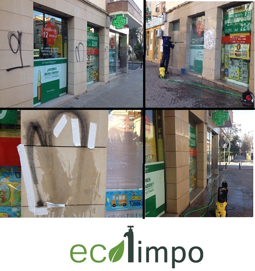 Eliminación de grafiti