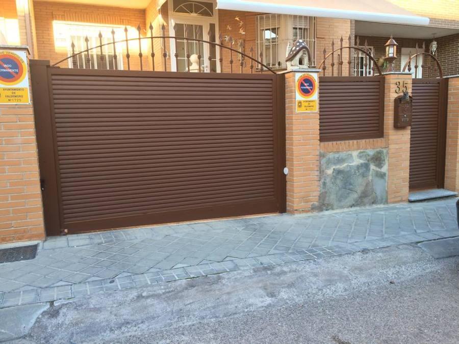 Puertas de cerrajeria con lama eliptica ideas puertas garaje for Garaje de ideas