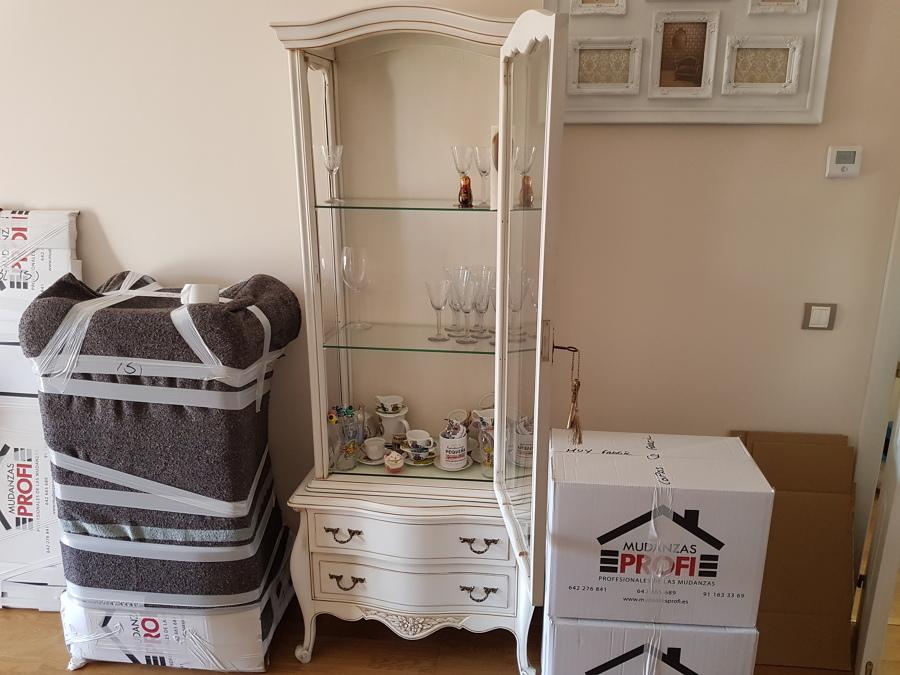Embalaje copas y mobiliario