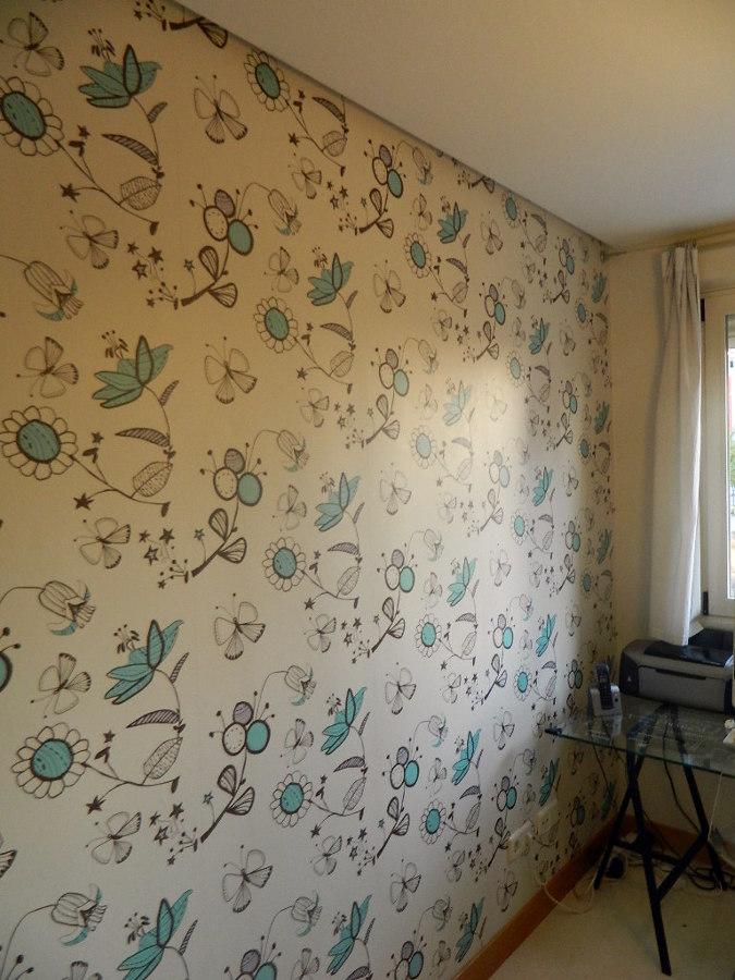 foto empapelar pared de reformas pintura y decoraci n