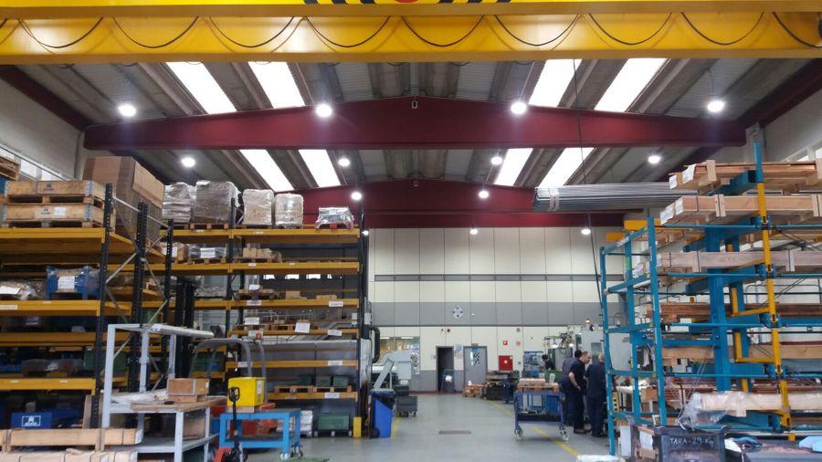 Empresa campanas LED