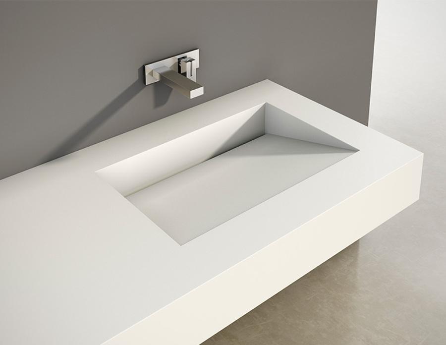 Proyecto en corian ideas arquitectos - Lavabos de resina ...