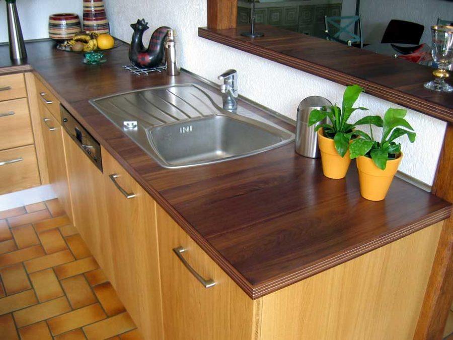 Consejos para el cuidado de los diferentes tipos de encimeras ideas limpieza - Encimera cocina madera ...