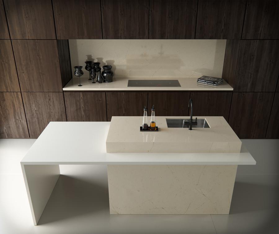 Los 2 mejores materiales para una encimera de cocina - Materiales encimeras cocina ...