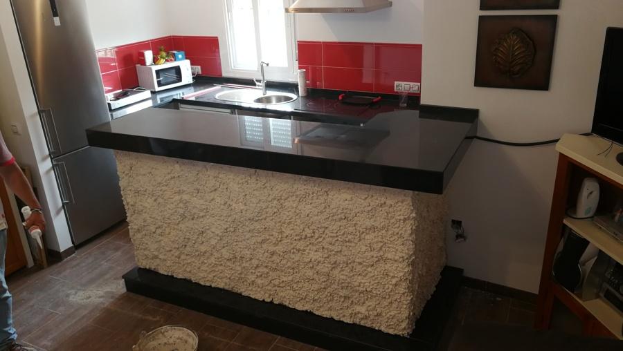 Granitos para cocina great good granito claro para cocina mesones de granito para cocinas baos - Granito para encimeras de cocina ...