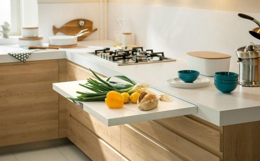 Mesa Encimera Cocina. Cheap Mesa De Cocina X Cm Extensible Patas ...
