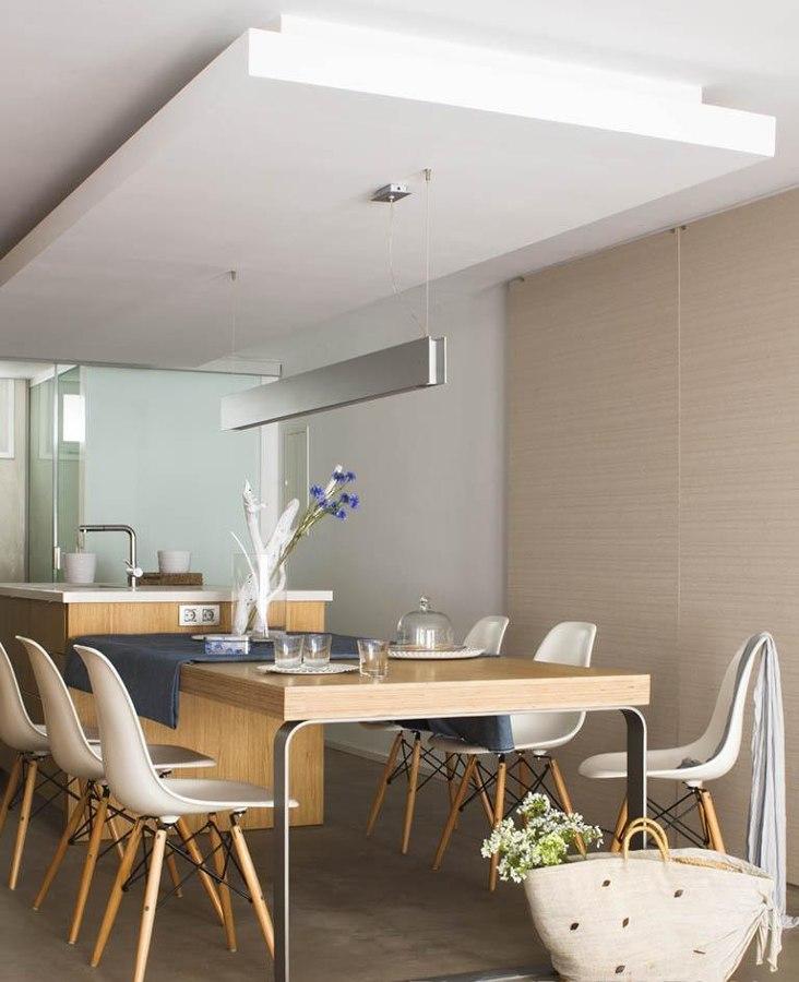 Encimeras que se convierten en mesas 2 en 1 ideas for Cocinas estrechas con mesa