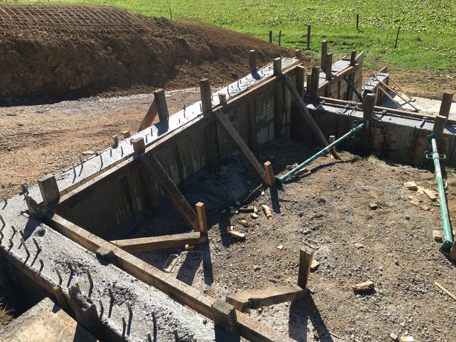 Encofrado y cimientos