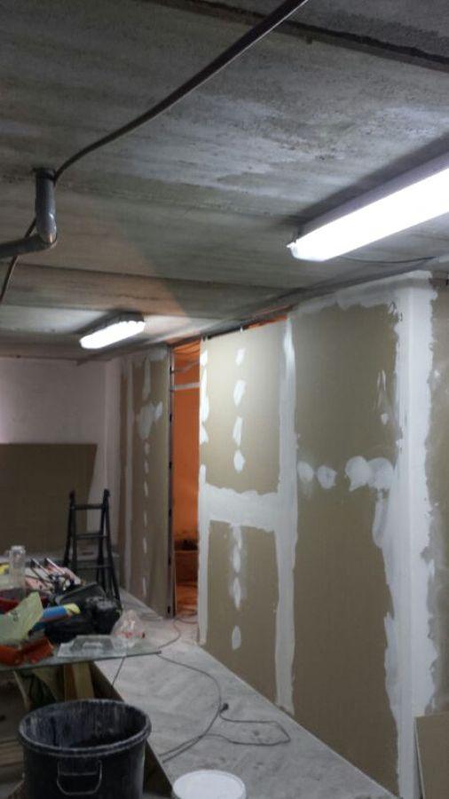 Colocar falso techo registrable y division de pladur - Colocar techos de pladur ...