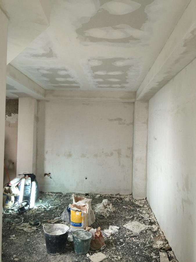 Foto enlucido de yeso y falso techo pladur de herfer - Falsos techos de pladur ...