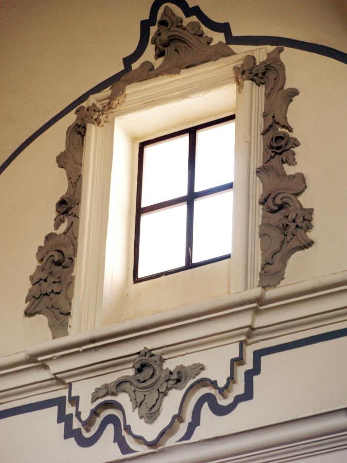 Enmarcación ventana Iglesia