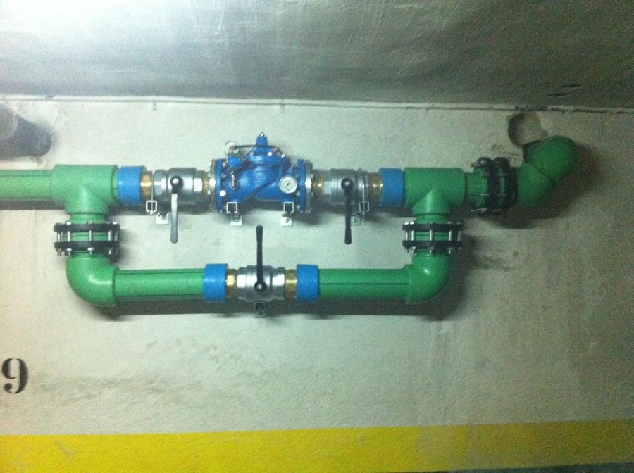 Instalaciones de agua comunitarias en tuberia de pp r en - Tuberia agua potable ...