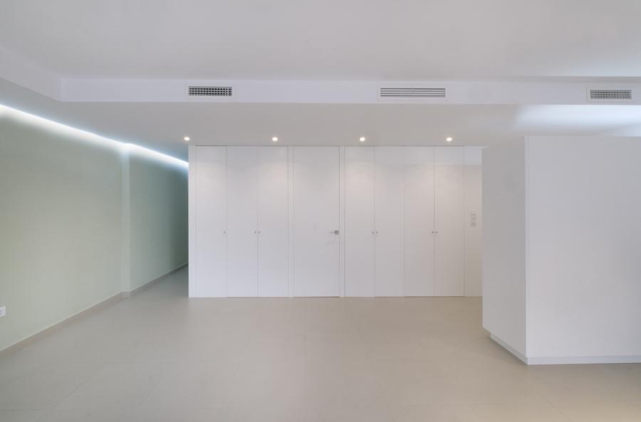Entrada pasillo habitaciones