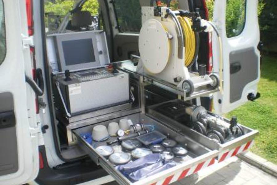 Equipo de inspección de tuberías