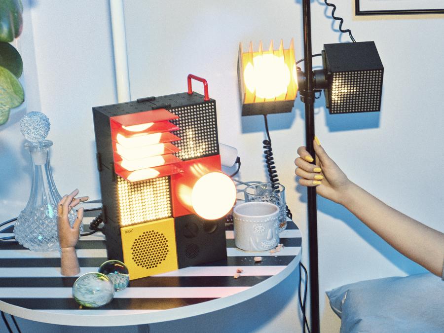 Equipo luz y sonido edición limitada FREKVENS IKEA