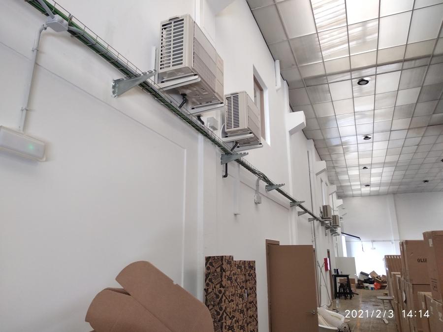 Equipos de climatización U.E.