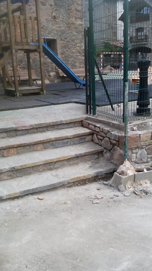 Escalera de piedra en el pirineo aragon s ideas reformas - Escalones de piedra ...