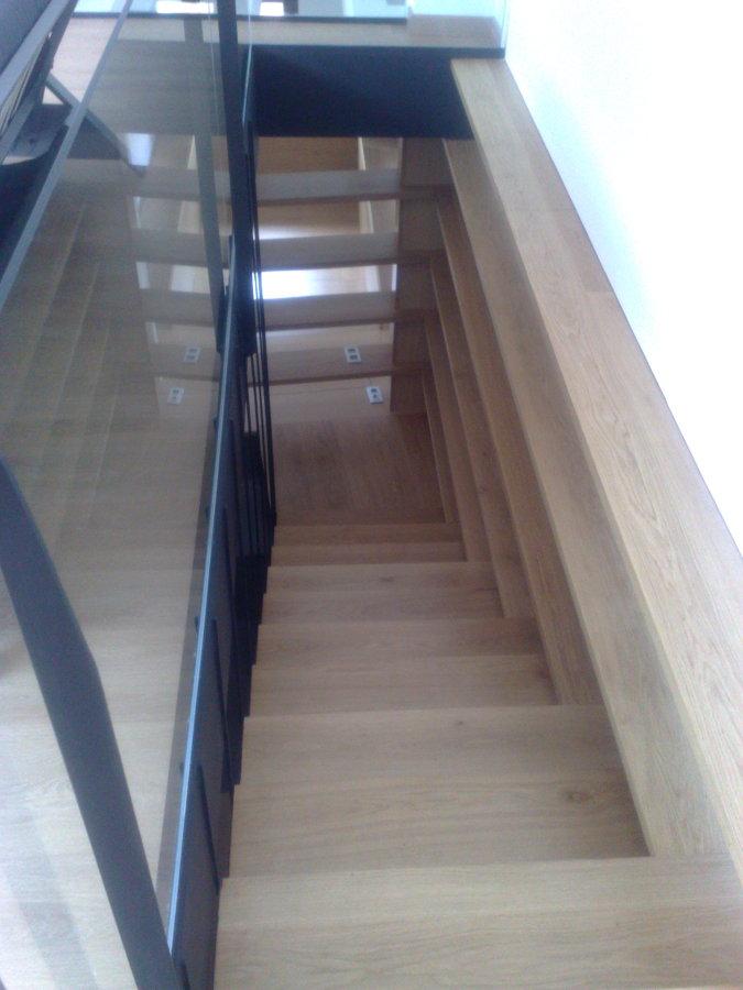 Escalera al piso superior