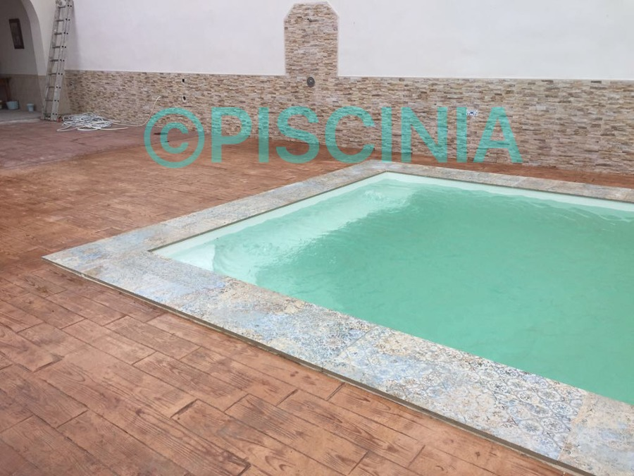 Piscina 7x3 5 de acero y l mina armada ideas for Lamina armada para piscinas precios