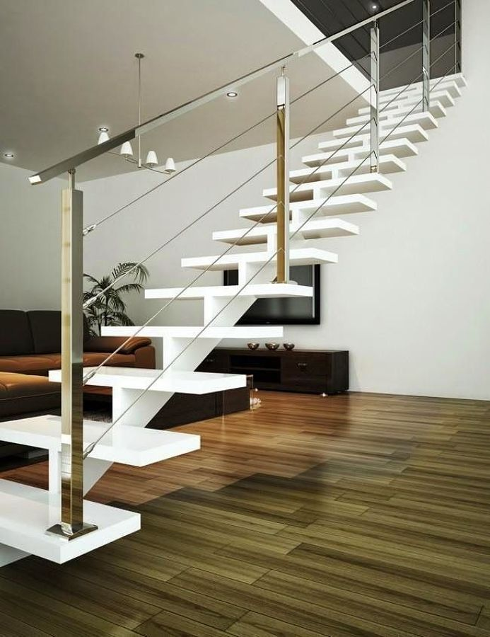 Qu tipo de escalera debo elegir para mi casa ideas for Que es una escalera