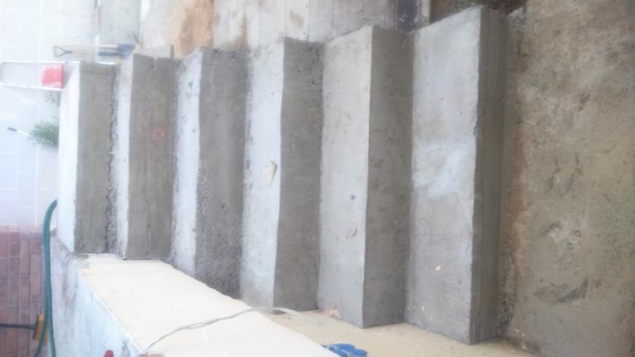 Escalera de hormigon revestida ideas construcci n casas for Construir escalera de hormigon