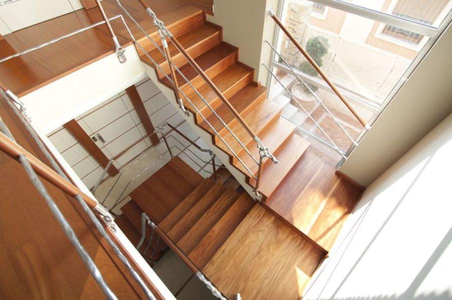 Escalera de madera de Talí