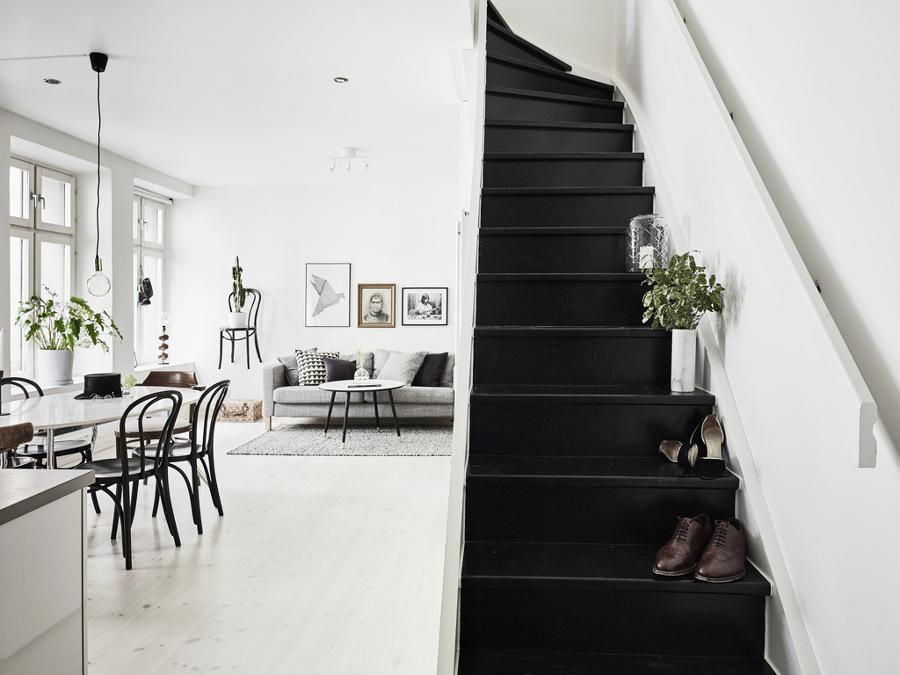 Escaleras pintadas dise o y originalidad pelda o a for Escaleras duplex fotos