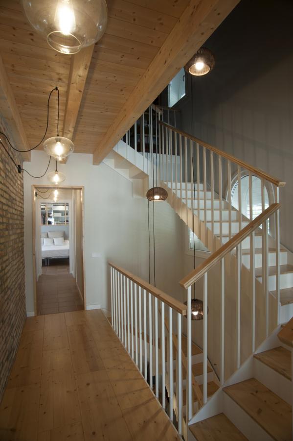 Escalera desde la segona planta