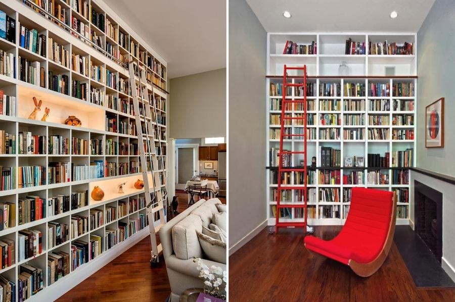 Foto escalera en librer a de miriam mart 896970 - Librerias con escalera ...