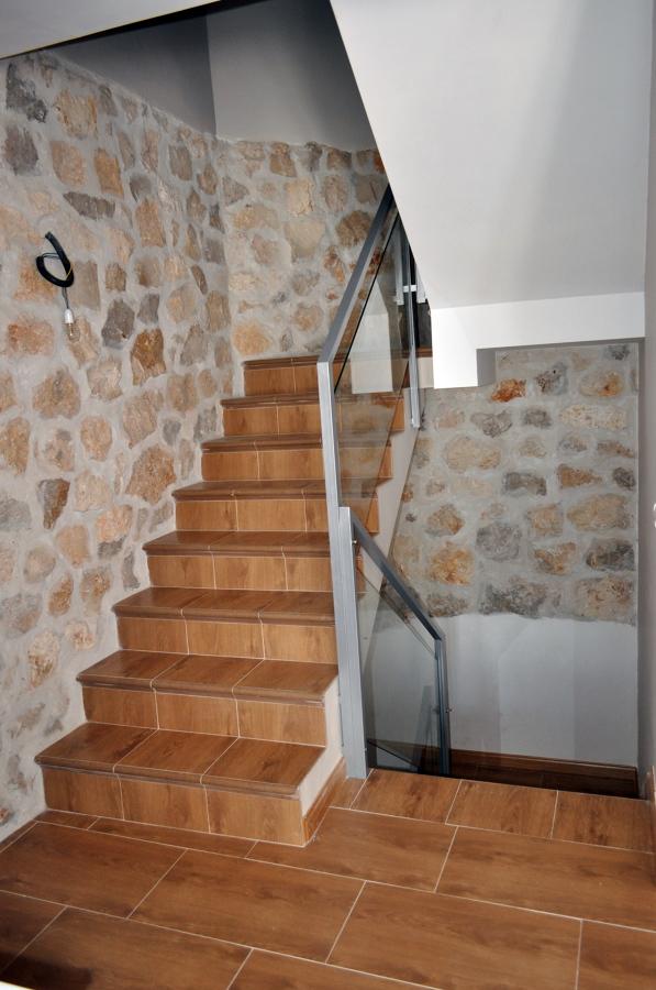 escalera en piedra
