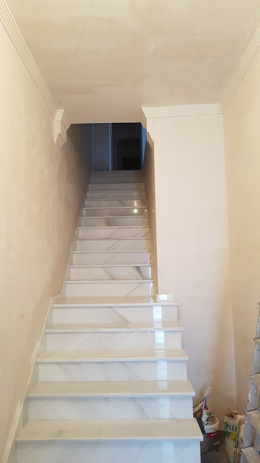 Escalera entrada casa