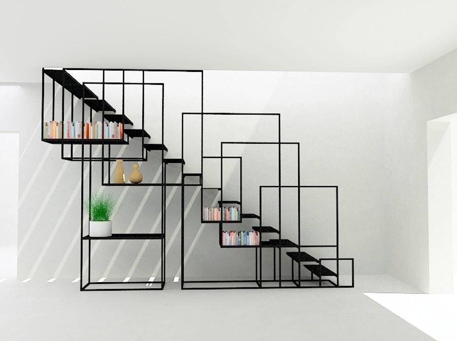 escalera escultura