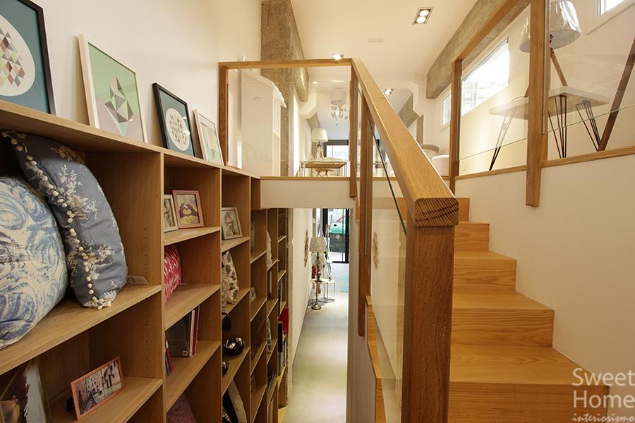 escalera/estanteria
