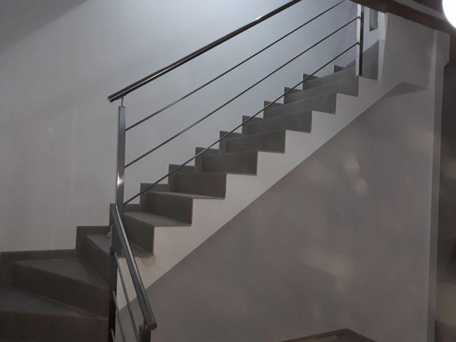Escalera inox