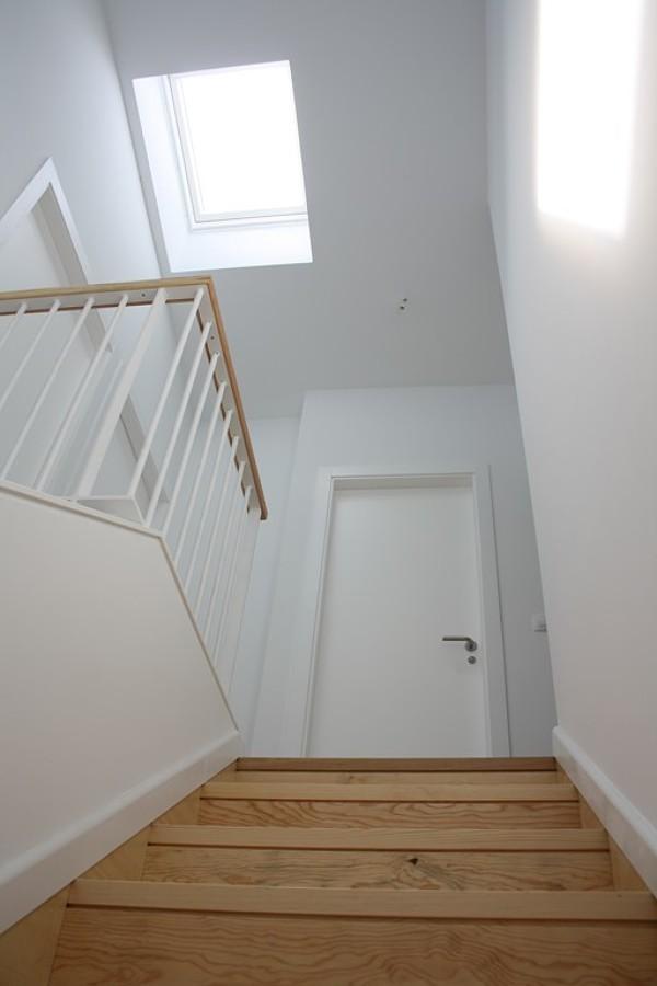 Escalera Interior con lucernario