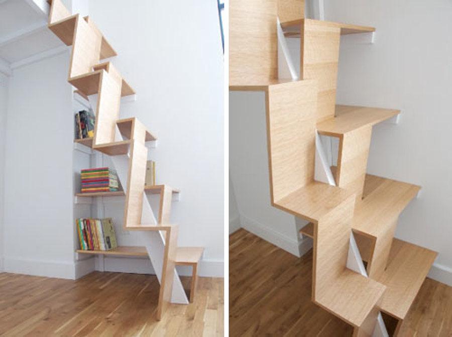 escalera mínima