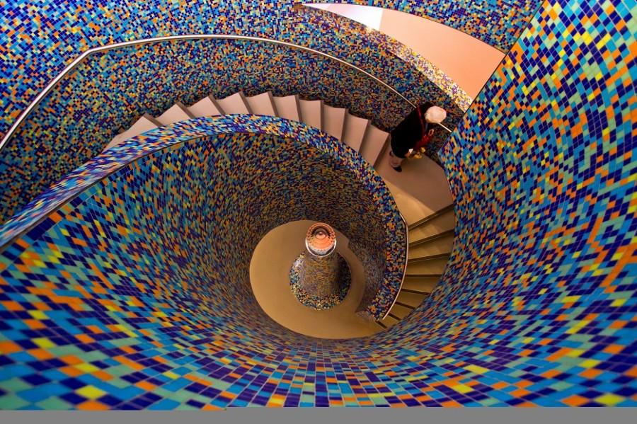 escalera multicolor habitssimo