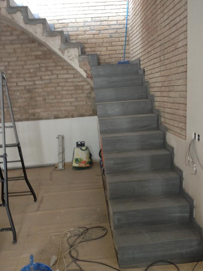 Escalera terminada.
